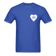 T-Shirts ~ Men's Standard Weight T-Shirt ~ Cubs Ivy Love