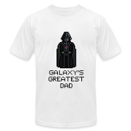 T-Shirts ~ Men's T-Shirt by American Apparel ~ Galaxy's Greatest Dad 2
