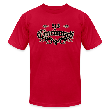 Cincinnati 513 American Apparel T-Shirt