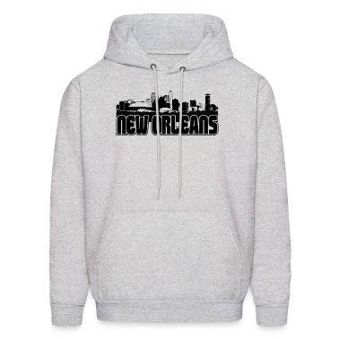 New Orleans Skyline Hooded Sweatshirt