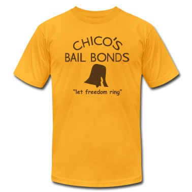 Chicos Bail Bonds American Apparel T-Shirt