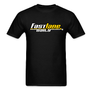 T-Shirts ~ Men's T-Shirt ~ Fast Lane Daily Logo on T