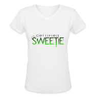 Women's T-Shirts ~ Women's V-Neck T-Shirt ~ Article 10083432