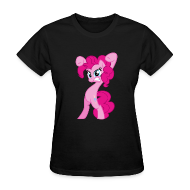 Women's T-Shirts ~ Women's Standard Weight T-Shirt ~ Pinkie Pie - Zacora Black/F