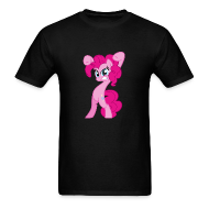 T-Shirts ~ Men's Standard Weight T-Shirt ~ Pinkie Pie - Zacora Black/M