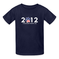 Kids' Shirts ~ Kids' T-Shirt ~ Official Dogs Against Romney