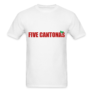T-Shirts ~ Men's T-Shirt ~ Five Cantonas