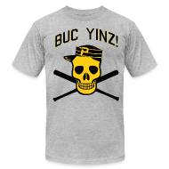 T-Shirts ~ Men's T-Shirt by American Apparel ~ Buc Yinz