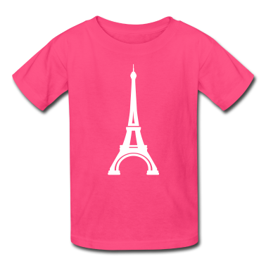 Eiffel Tower Paris Kids' Shirts