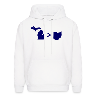 Hoodies ~ Men's Hooded Sweatshirt ~ Geography and Math