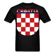 T-Shirts ~ Men's Standard Weight T-Shirt ~ Sahovnica Shirt Croatia Hrvatska 3 color