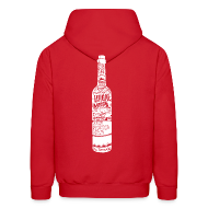 Hoodies ~ Men's Hooded Sweatshirt ~ Bottle Hoodie