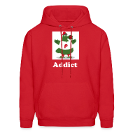 Hoodies ~ Men's Hooded Sweatshirt ~ Addict Hood