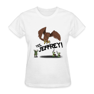 Women's T-Shirts ~ Women's Standard Weight T-Shirt ~ Jeffrey Womanshirt