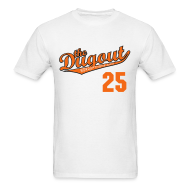T-Shirts ~ Men's T-Shirt ~ WordUpThome #25 (Jim Thome) Orioles Dugout T