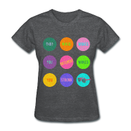 Women's T-Shirts ~ Women's Standard Weight T-Shirt ~ That which makes you different:  Darren Criss quote - Std Wt T