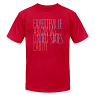T-Shirts ~ Men's T-Shirt by American Apparel ~ FayArkUsaEarth