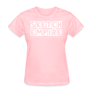 Women's T-Shirts ~ Women's Standard Weight T-Shirt ~ Sketch Empire Girls