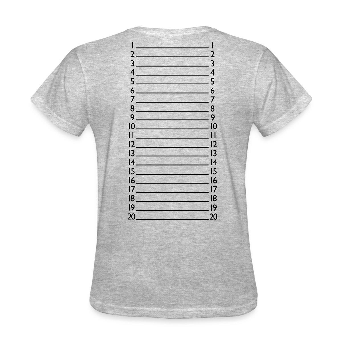 Hair Length Check Marker Women's T-Shirt by Spreadshirt ...