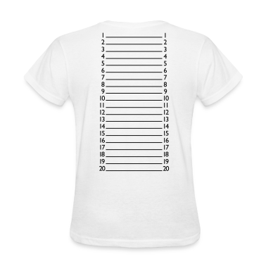 Basic Length Check T-Shirt