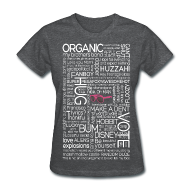Women's T-Shirts ~ Women's Standard Weight T-Shirt ~ Darren Criss Typography (White) - Std Wt T