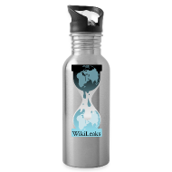 Bottles & Mugs ~ Water Bottle ~ WikiLeaks Water Bottle
