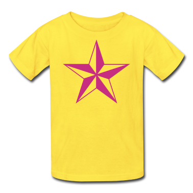 Classic pink nautical north star Kids & Baby