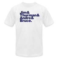 T-Shirts ~ Men's T-Shirt by American Apparel ~ Fab Four -