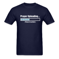 T-Shirts ~ Men's Standard Weight T-Shirt ~ Prayer Uploading