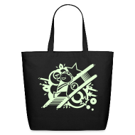 Bags & backpacks ~ Eco-Friendly Cotton Tote ~ Charles GLOW tote