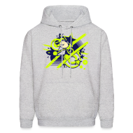 Hoodies ~ Men's Hooded Sweatshirt ~ Charles the Raver Hoodie