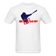 T-Shirts ~ Men's Standard Weight T-Shirt ~ Mr. Walk-Off