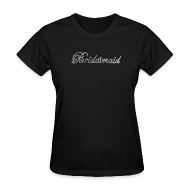 Women's T-Shirts ~ Women's Standard Weight T-Shirt ~ Classy Bridesmaid