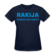 Women's T-Shirts ~ Women's Standard Weight T-Shirt ~ Girl RAKIJA connecting people Croatia
