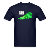 T-Shirts ~ Men's Standard Weight T-Shirt ~ Big Green Blob
