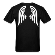 Black Small Angel Wings T-Shirts