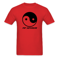 T-Shirts ~ Men's Standard Weight T-Shirt ~ YIN YANG POP SUPERHERO