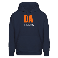Hoodies ~ Men's Hooded Sweatshirt ~ DA Bears Men's Hoody