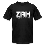 Zurich Airport Code ZRH Switzerland Fitted T-shirt