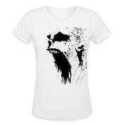 White The Jaw Women's Tees (Short sleeve)
