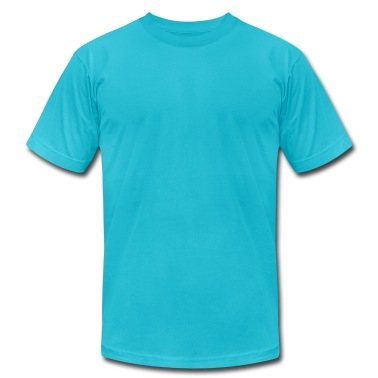 Diving Frog, aa tee, men, turquoise