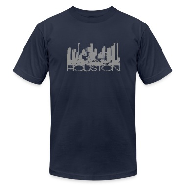 Navy Houston Texas T-shirt Design T-Shirts