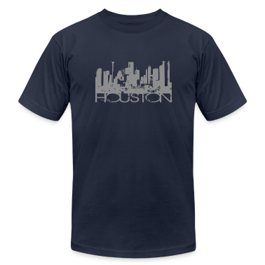 Navy Houston Texas T-shirt Design T-Shirts