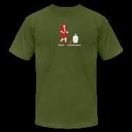 T-Shirts ~ Men's T-Shirt by American Apparel ~ Dowsing Rod [dowsing]