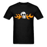 T-Shirts ~ Men's Standard Weight T-Shirt ~ Hoagie skull t-shirt (Day of the Tentacle)