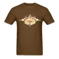T-Shirts ~ Men's Standard Weight T-Shirt ~ Restoration Wreath (Autumn)