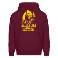 Hoodies ~ Men's Hooded Sweatshirt ~ Chief Zee is my Homeboy