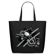 Bags & backpacks ~ Eco-Friendly Cotton Tote ~ Charles Grey Day eco-friendly tote