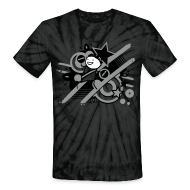 T-Shirts ~ Unisex Tie Dye T-Shirt ~ Charles Grey Day Tie Dye
