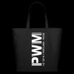 Portland Airport Code Maine PWM Tote Bag